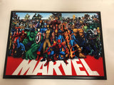 Marvel All Characters Plaque
