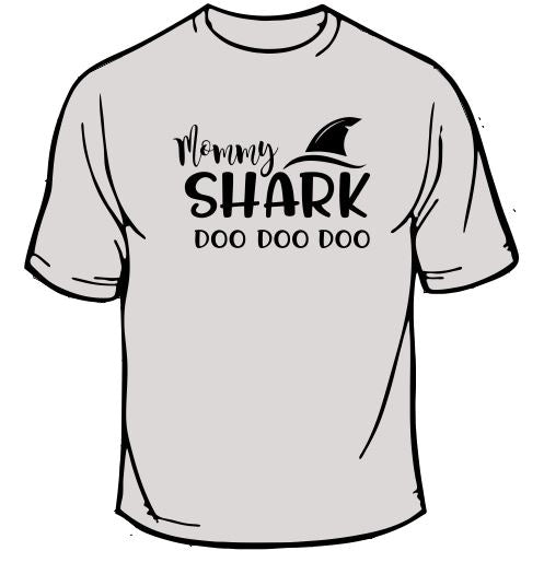 Mommy Shark Due Due Due Due T-Shirt