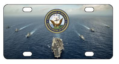 Navy Ships License Plate