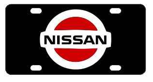 Nissan License Plate