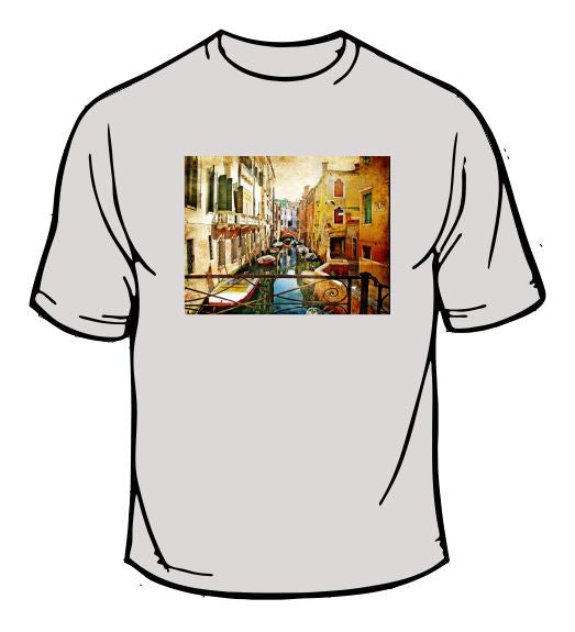 Painted City Scenic T-Shirt