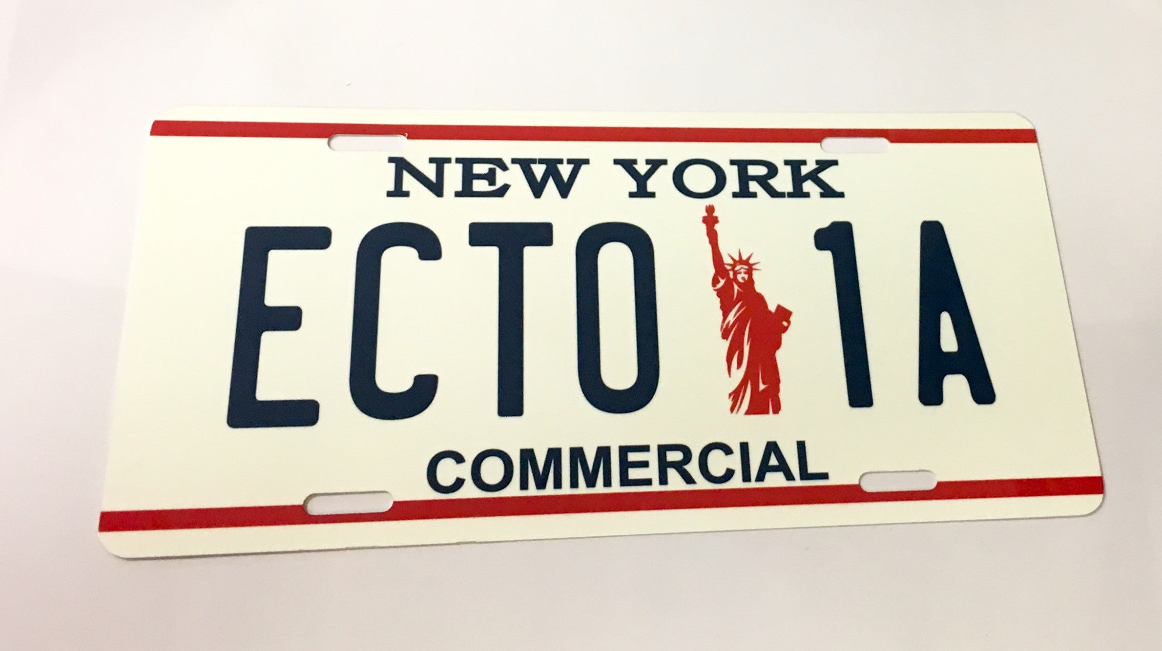 ECTO-1A - Ghostbusters License Plate
