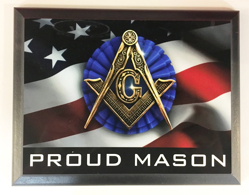 Proud Mason Plaque
