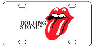 The Rolling Stones License Plate