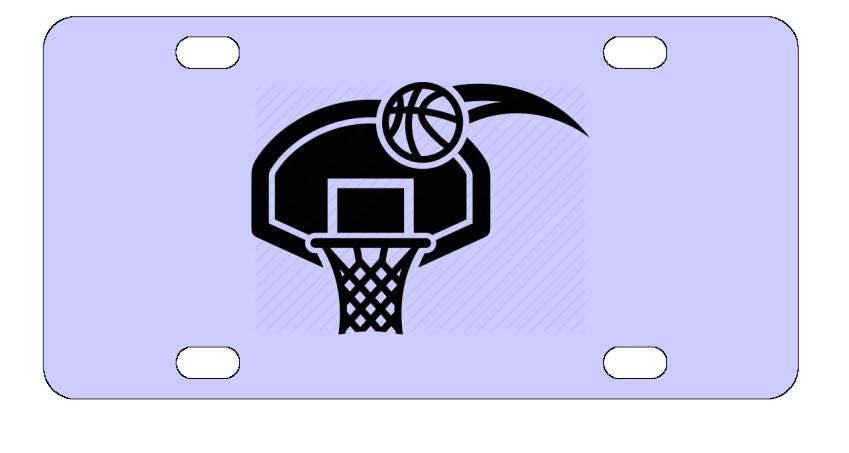 Scoring Basketball Sports License Plate