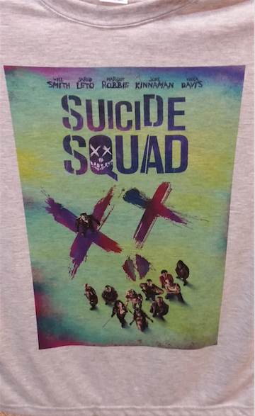 Suicide Squad Movie Poster T-Shirt