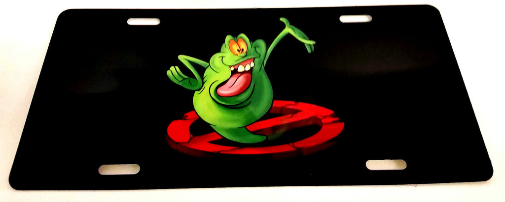 Slimer (Ghostbusters) License Plate