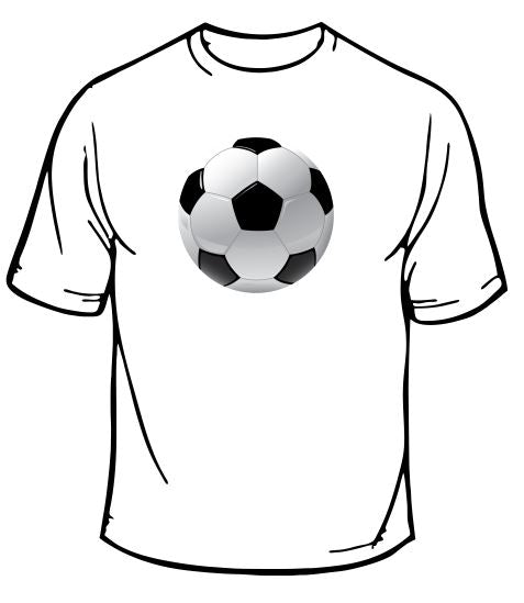 Soccer Ball Sports T-Shirt