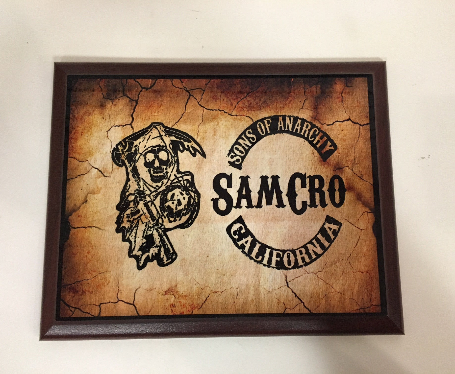 Sons of Anarchy - SamCro Plaque