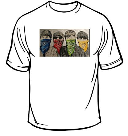 The Beatles Bandanas T-shirt