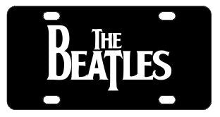 The Beatles License Plate