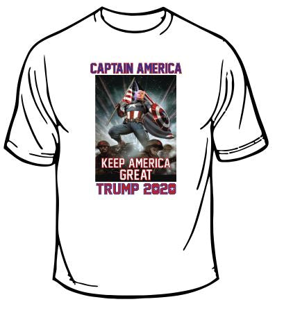 Trump Captain America 2020 T-Shirt