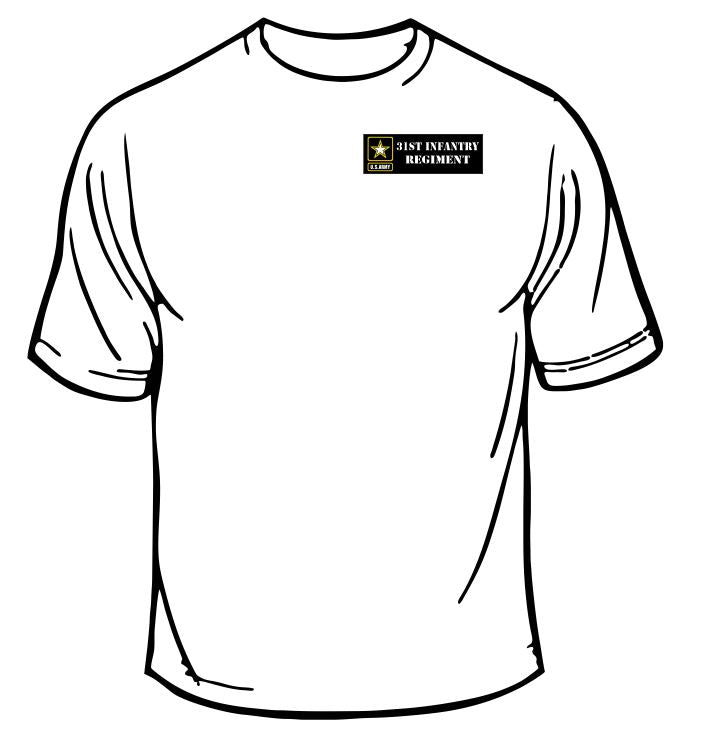 Army 31st Infantry Regiment T-Shirt