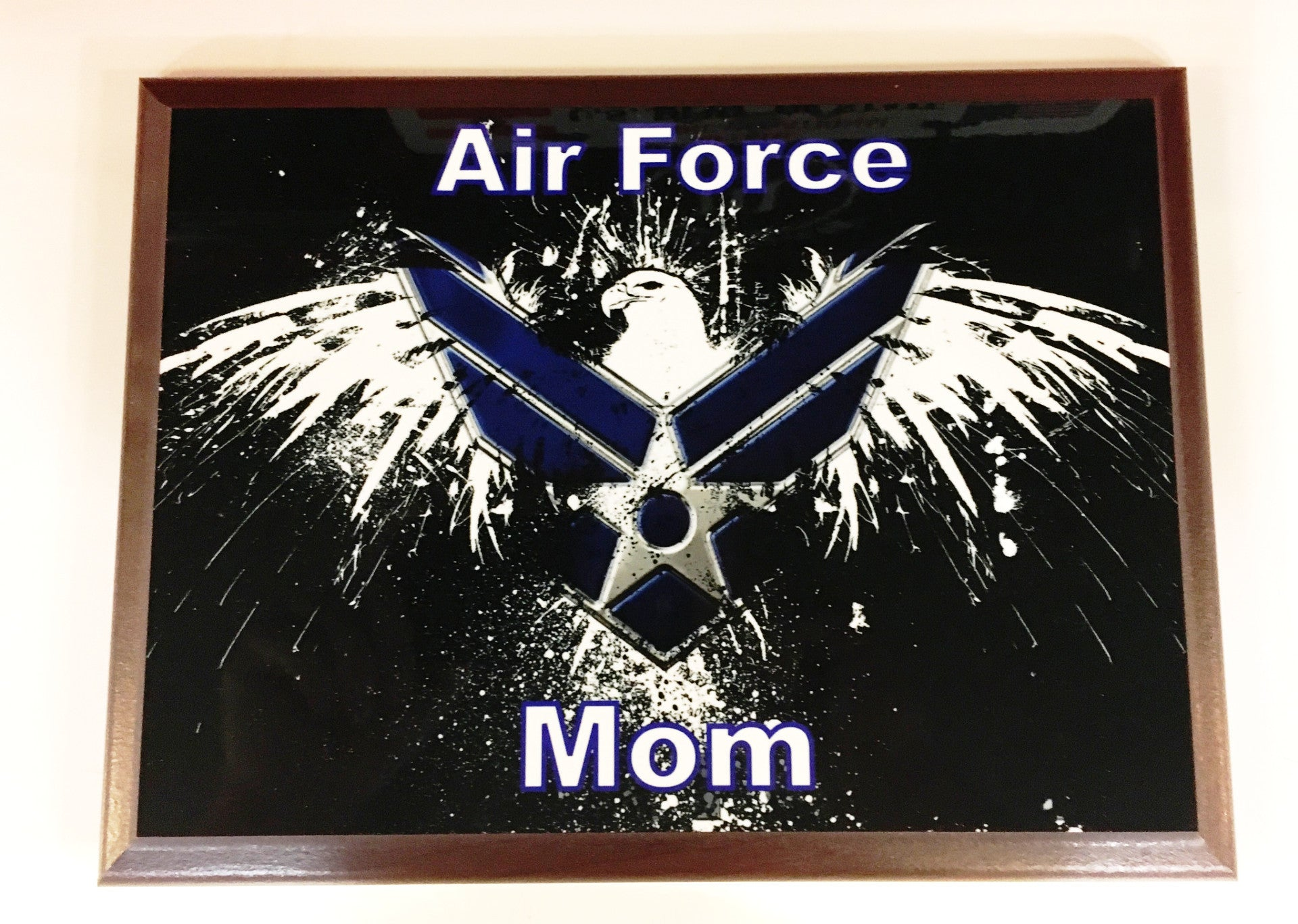 U.S. Air Force Mom Plaque