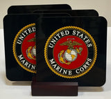 United States Marine Corps Coaster Set