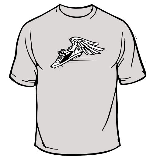 Winged Cleats Sports T-Shirt