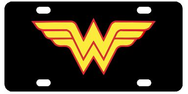 Wonder Woman License Plate