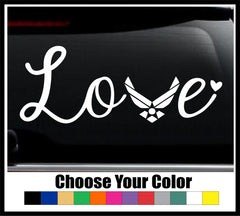 Air Force Love Decal