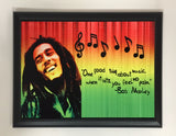 Bob Marley Quote Plaque