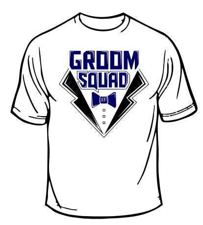 Groom Squad Wedding T-Shirt