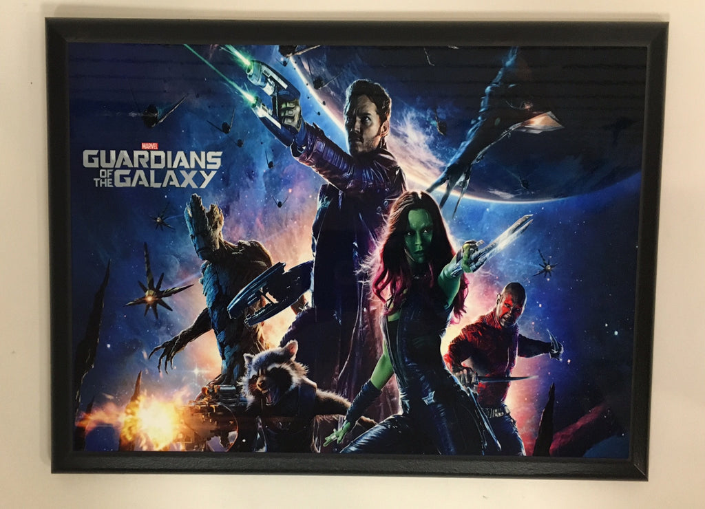 Guardians of the Galaxy Plaque