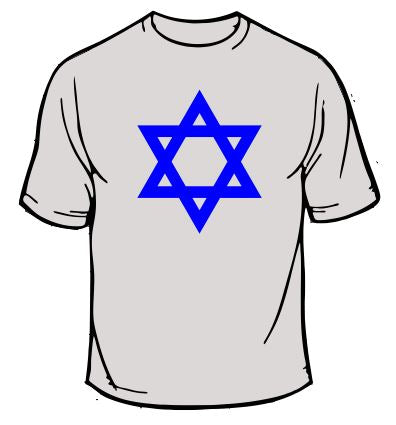 Star of David Jewish T-Shirt