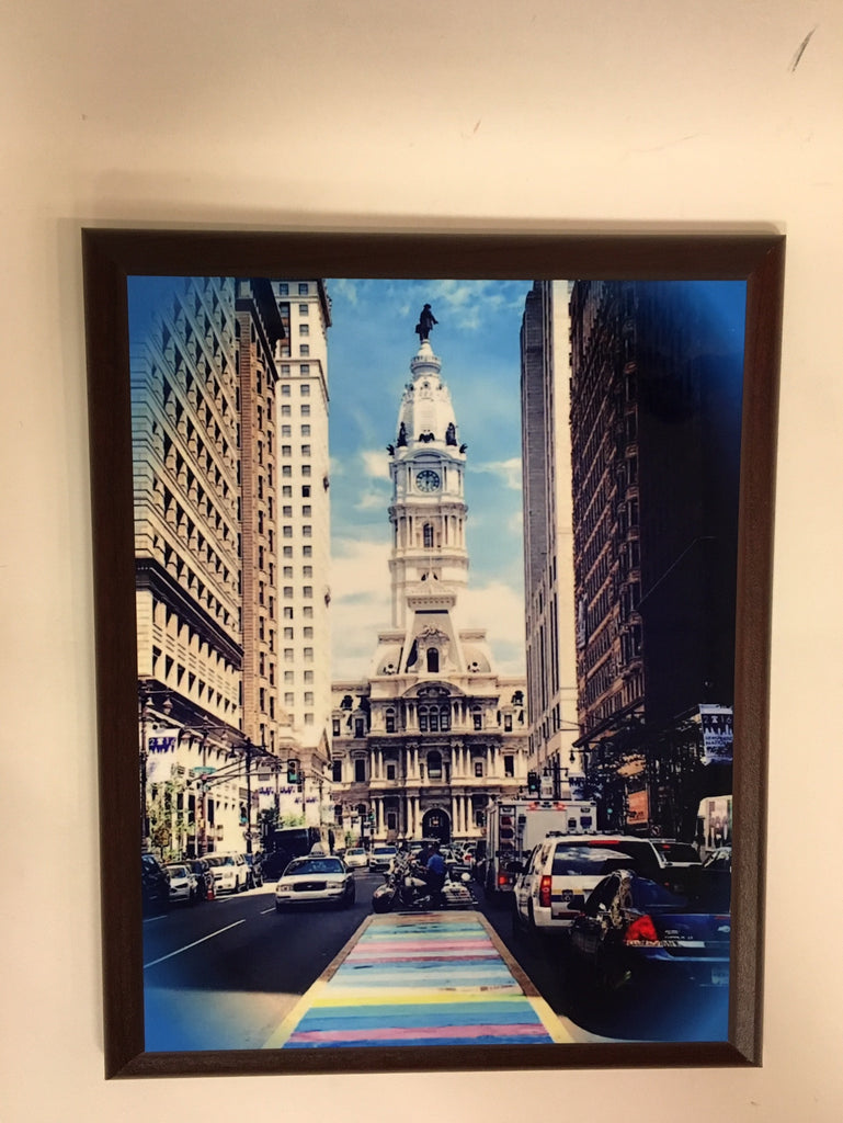 Philadelphia City Hall (Rainbow) Plaque
