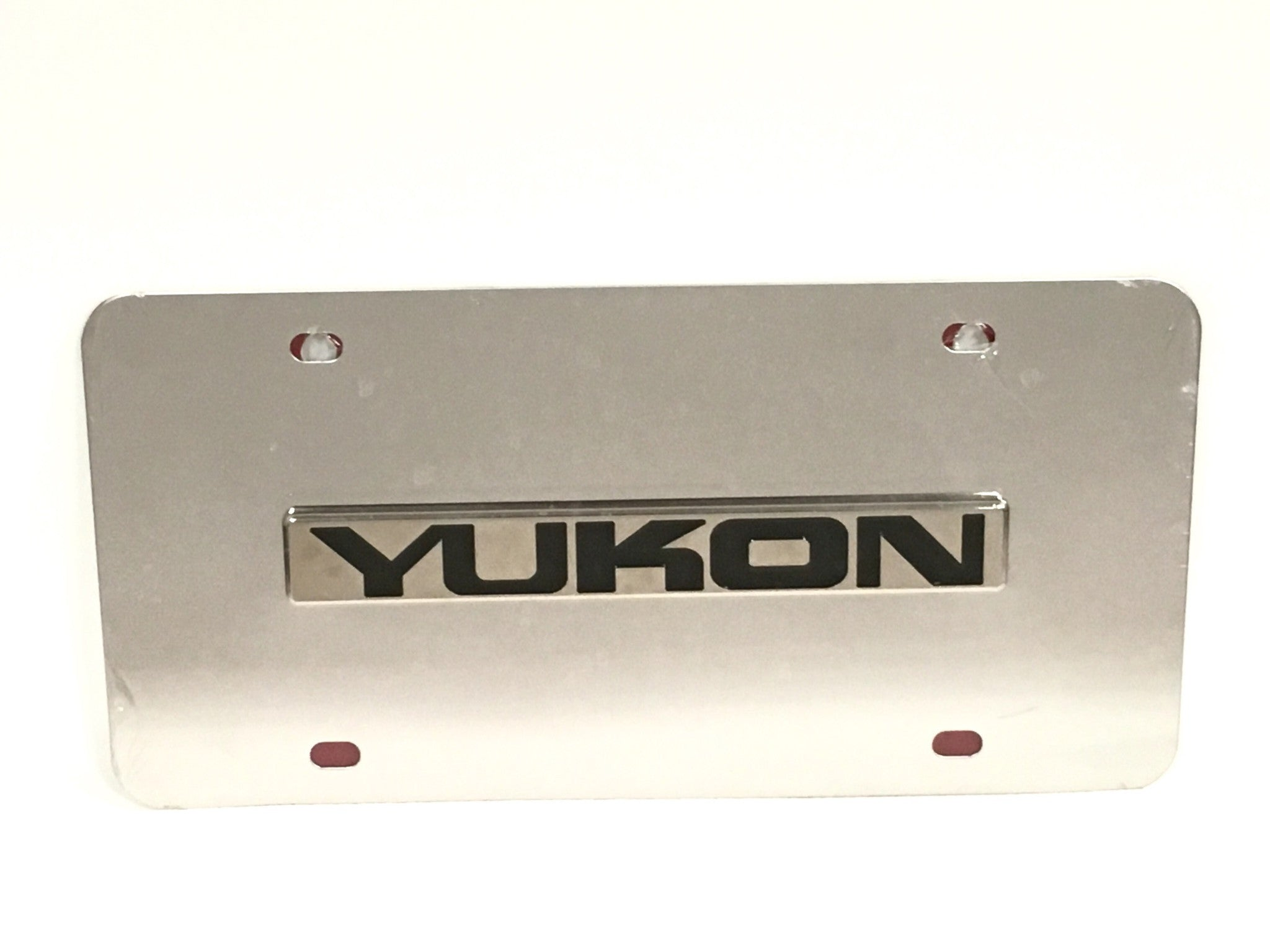 GMC Yukon Stainless Steel License Plate