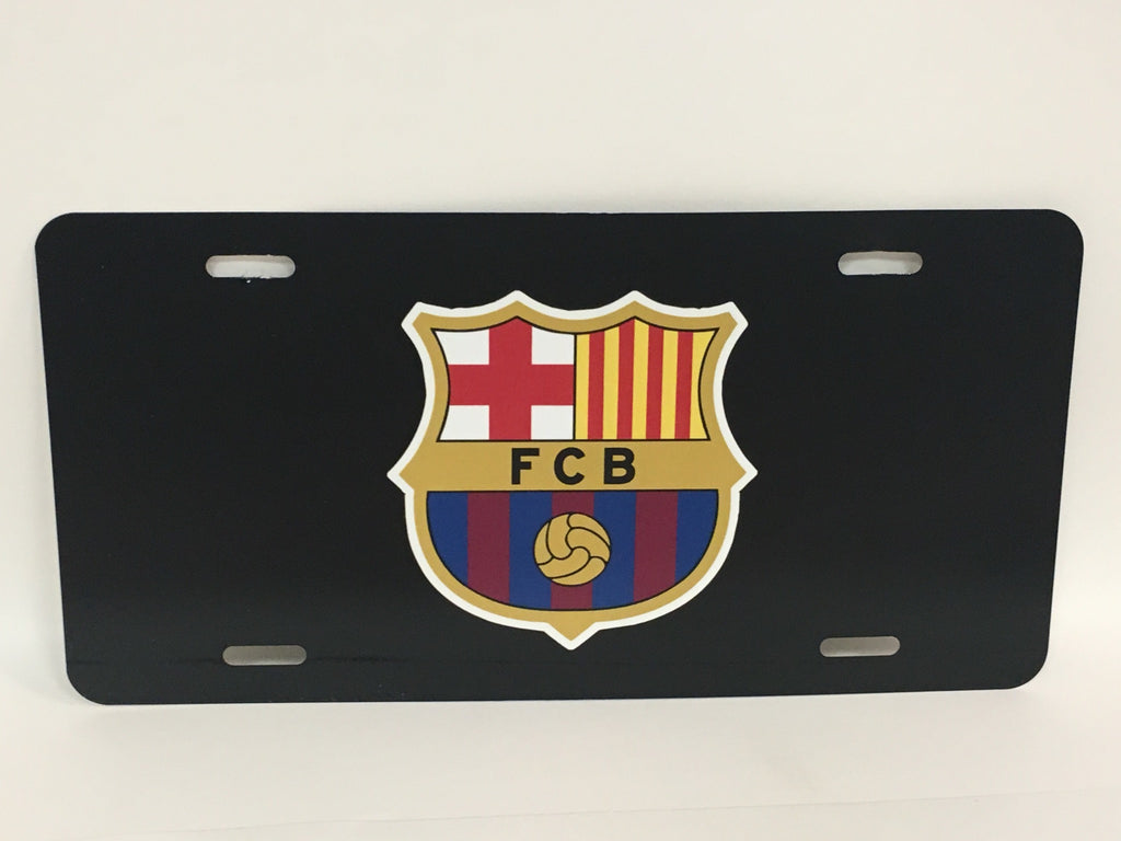 FC Barcelona License Plate