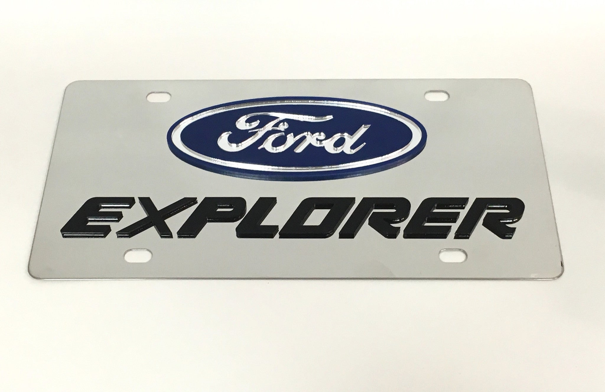 Ford Explorer License Plate
