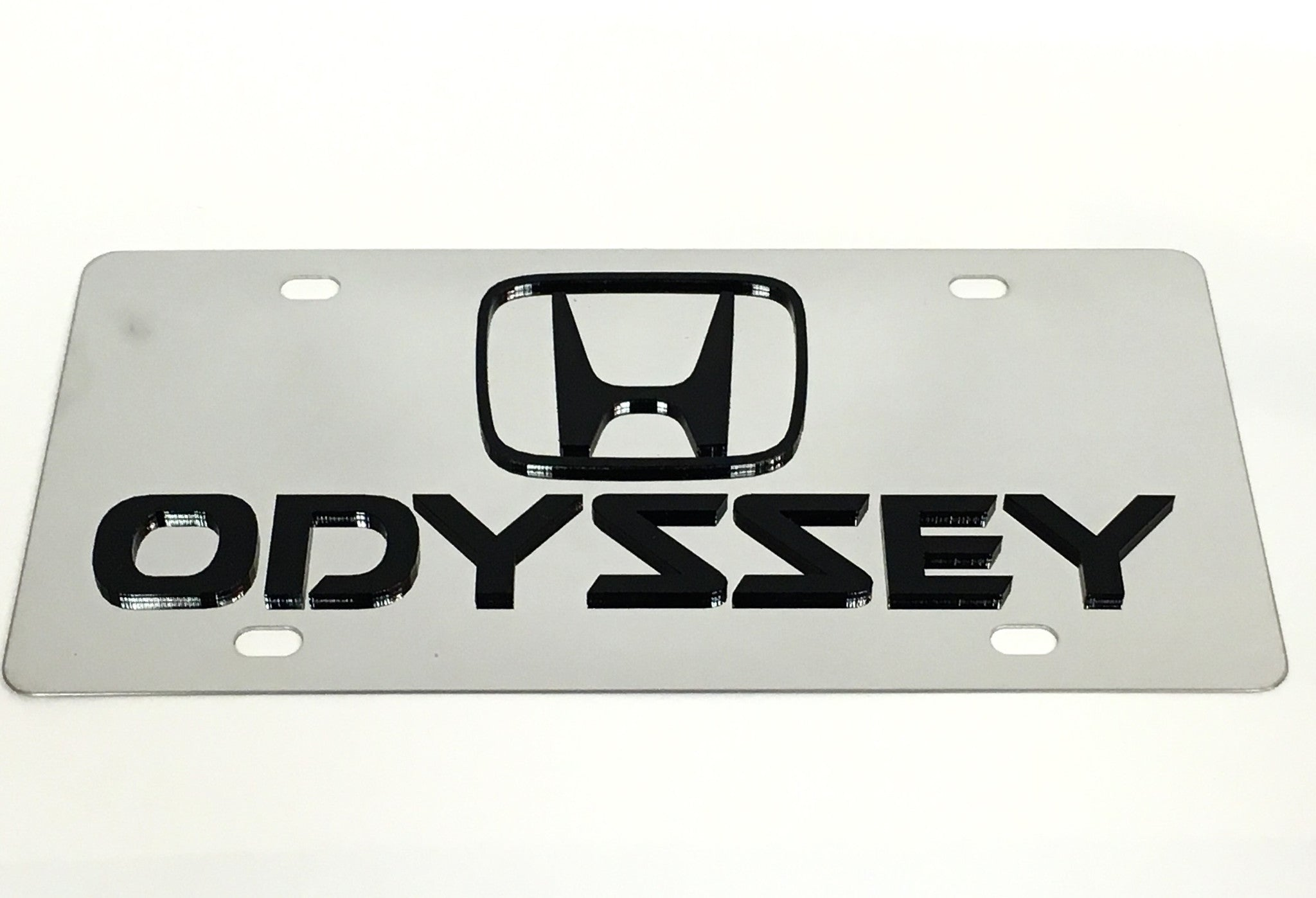 Honda Odyssey Stainless Steel License Plate