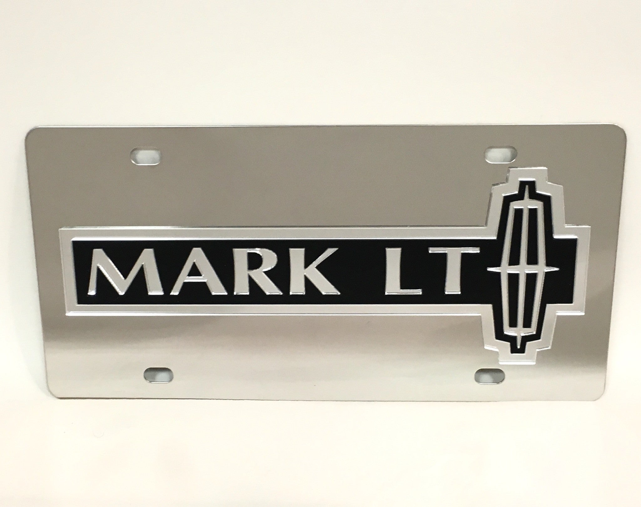 Lincoln Mark LT Stainless Steel License Plate