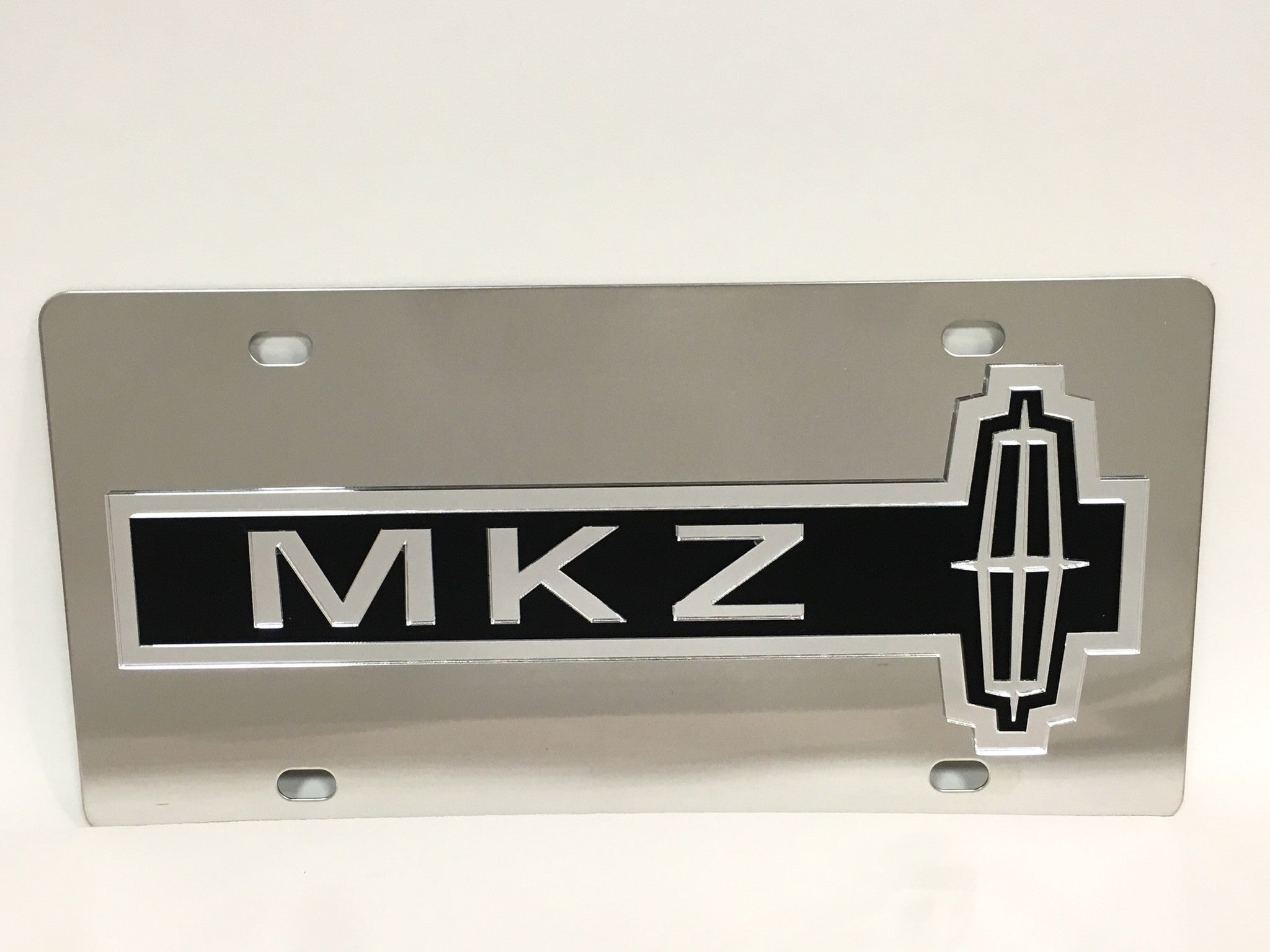 Lincoln MKZ Stainless Steel License Plate