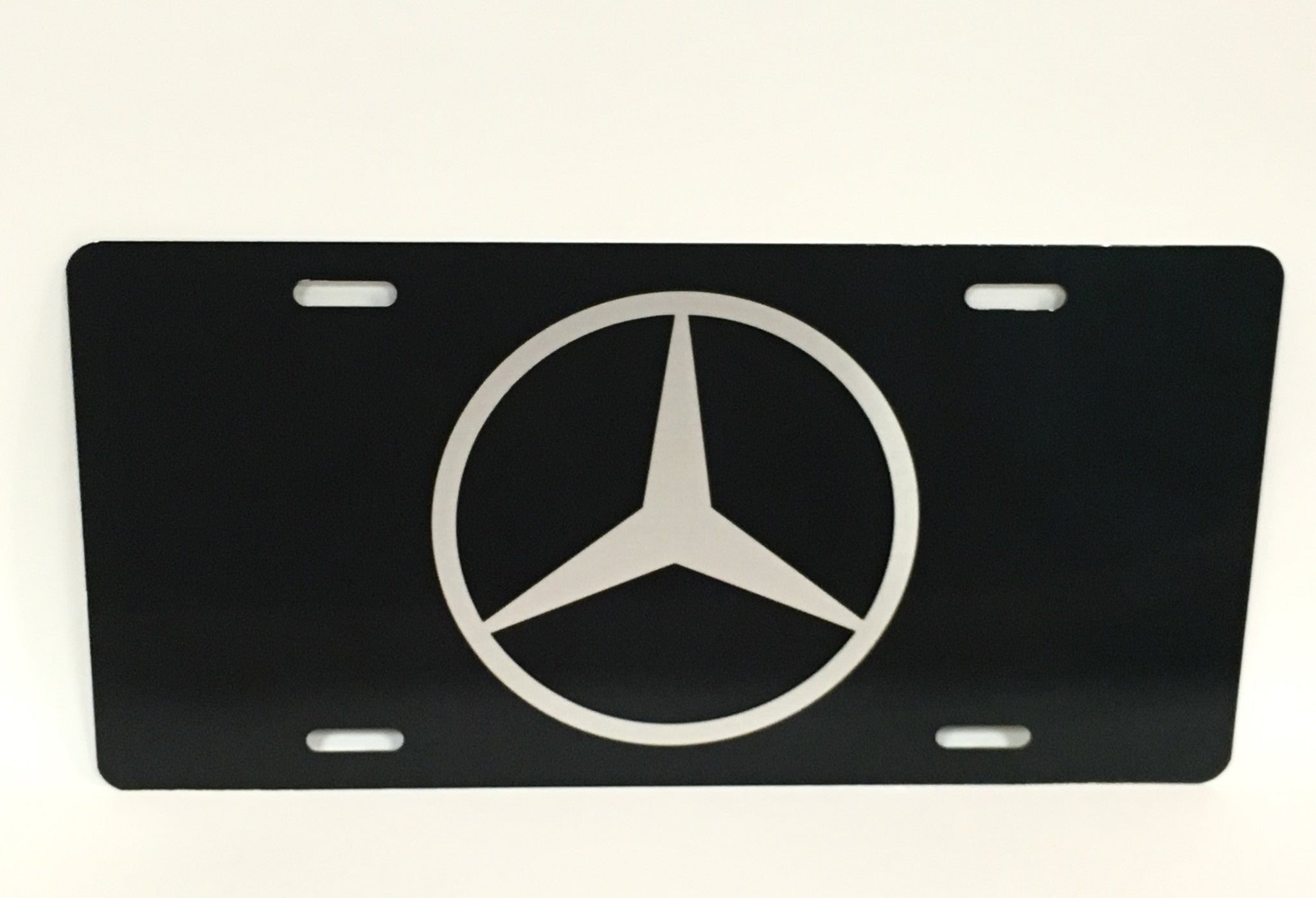 Mercedes Logo License Plate