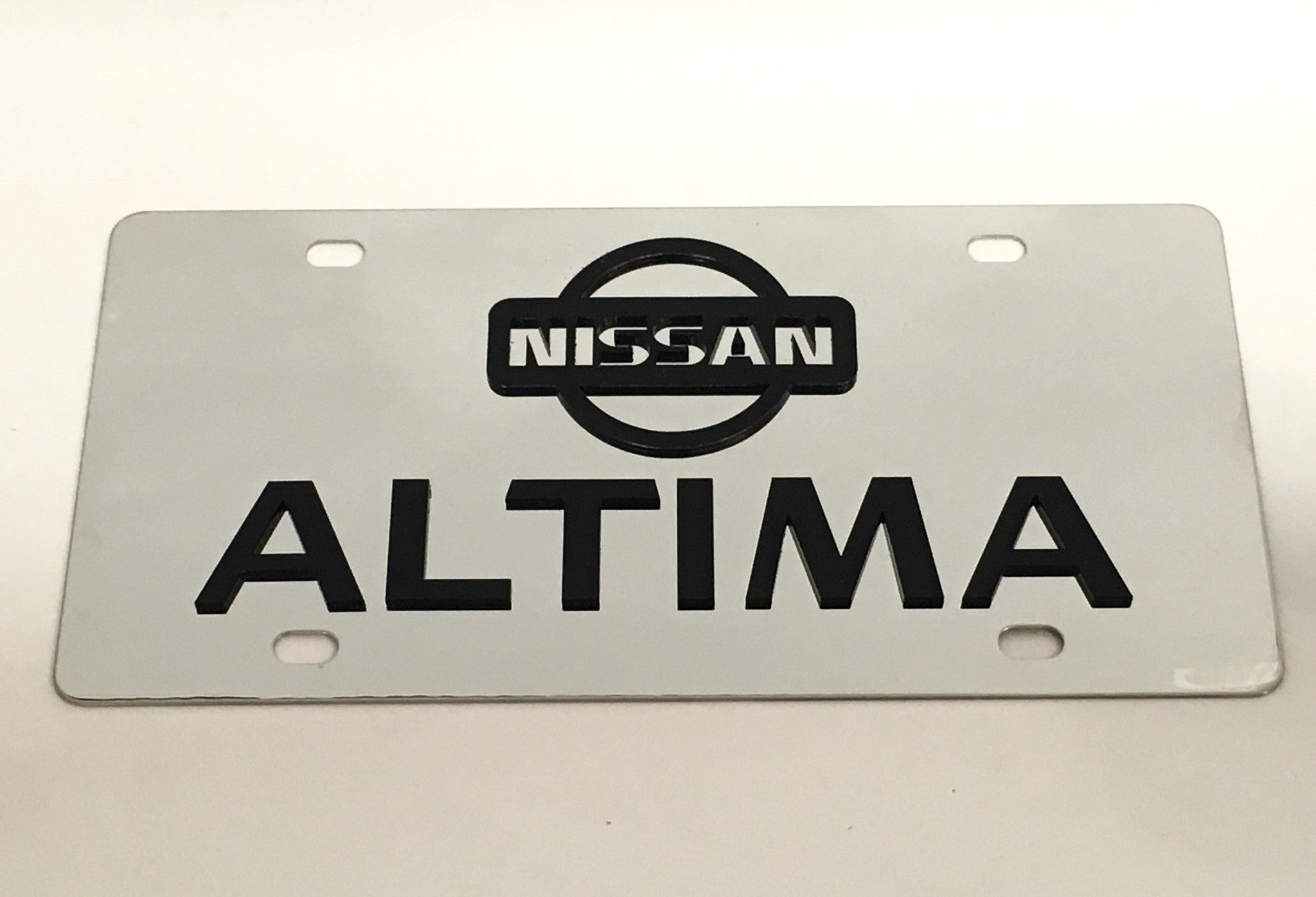 Nissan Altima Stainless Steel License Plate