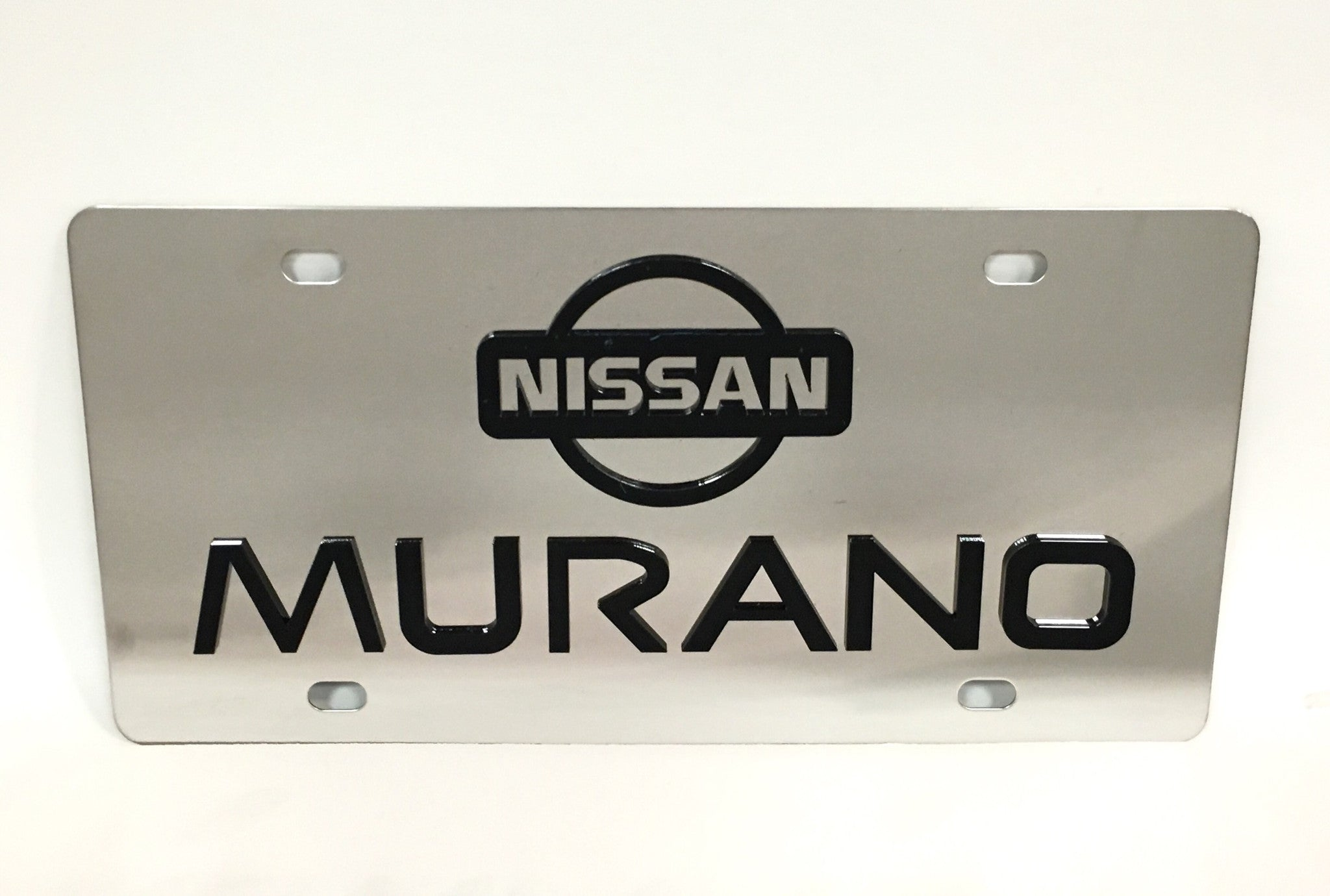Nissan Murano Stainless Steel License Plate