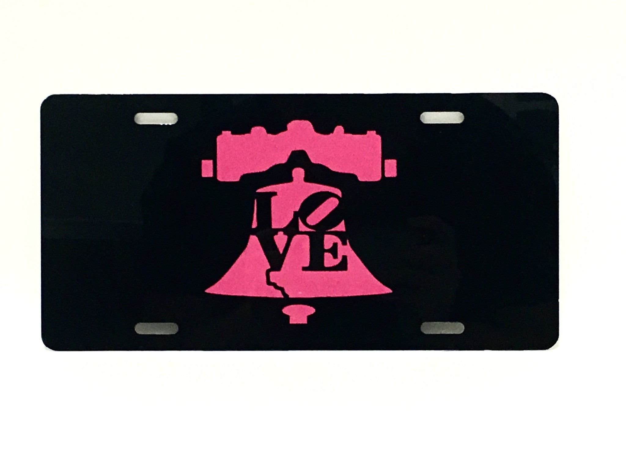 Love/Liberty Bell License Plate