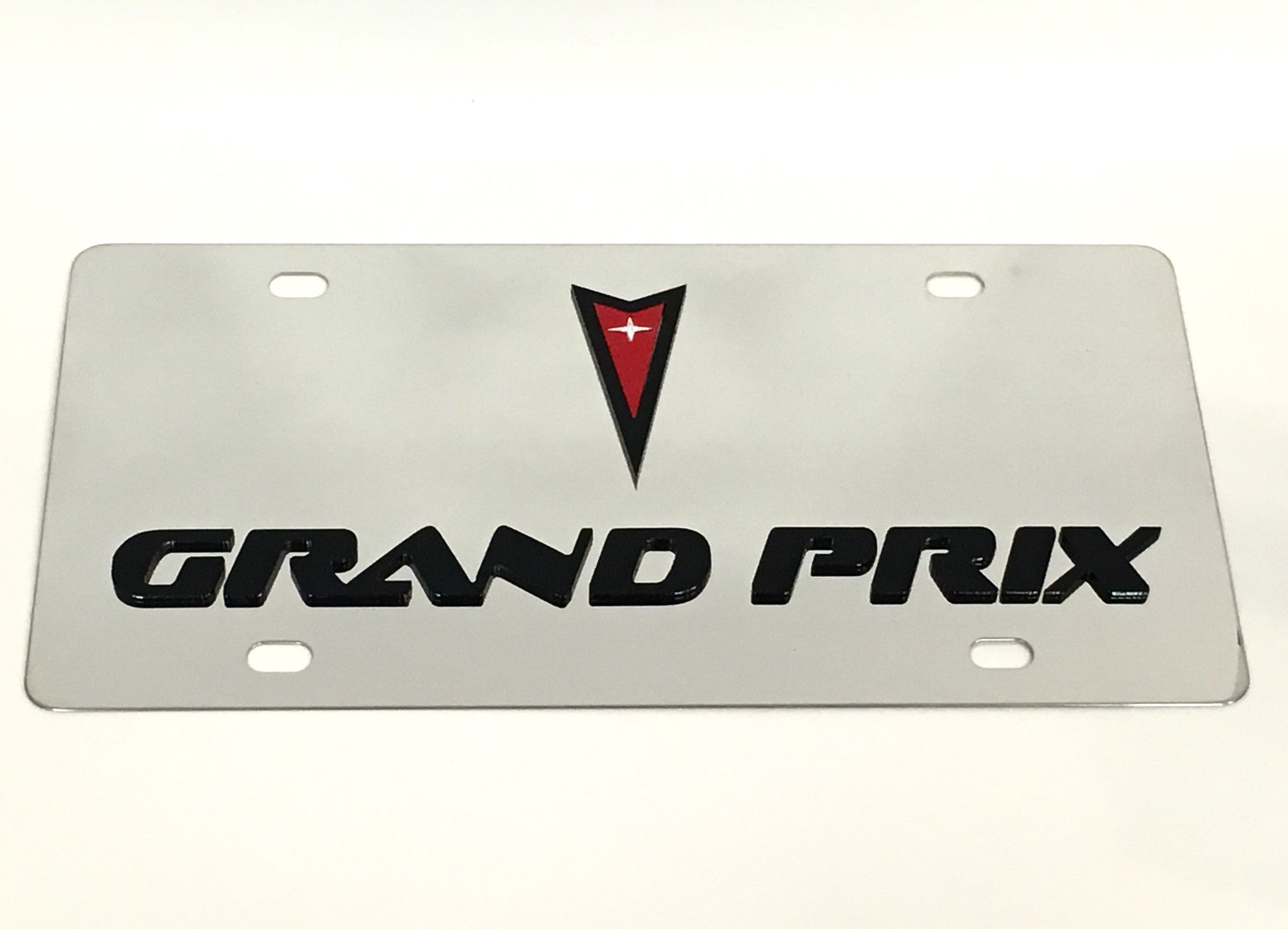 Pontiac Grand Prix Stainless Steel License Plate