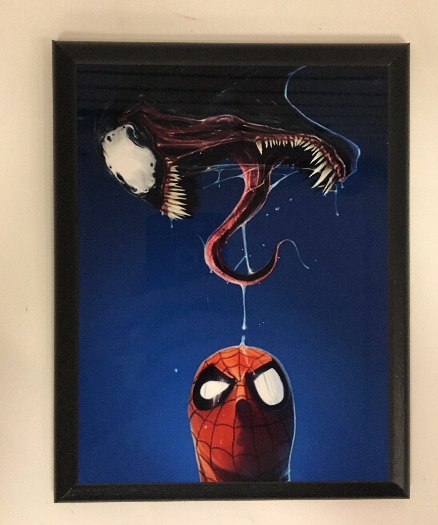 Spiderman/Venom Plaque