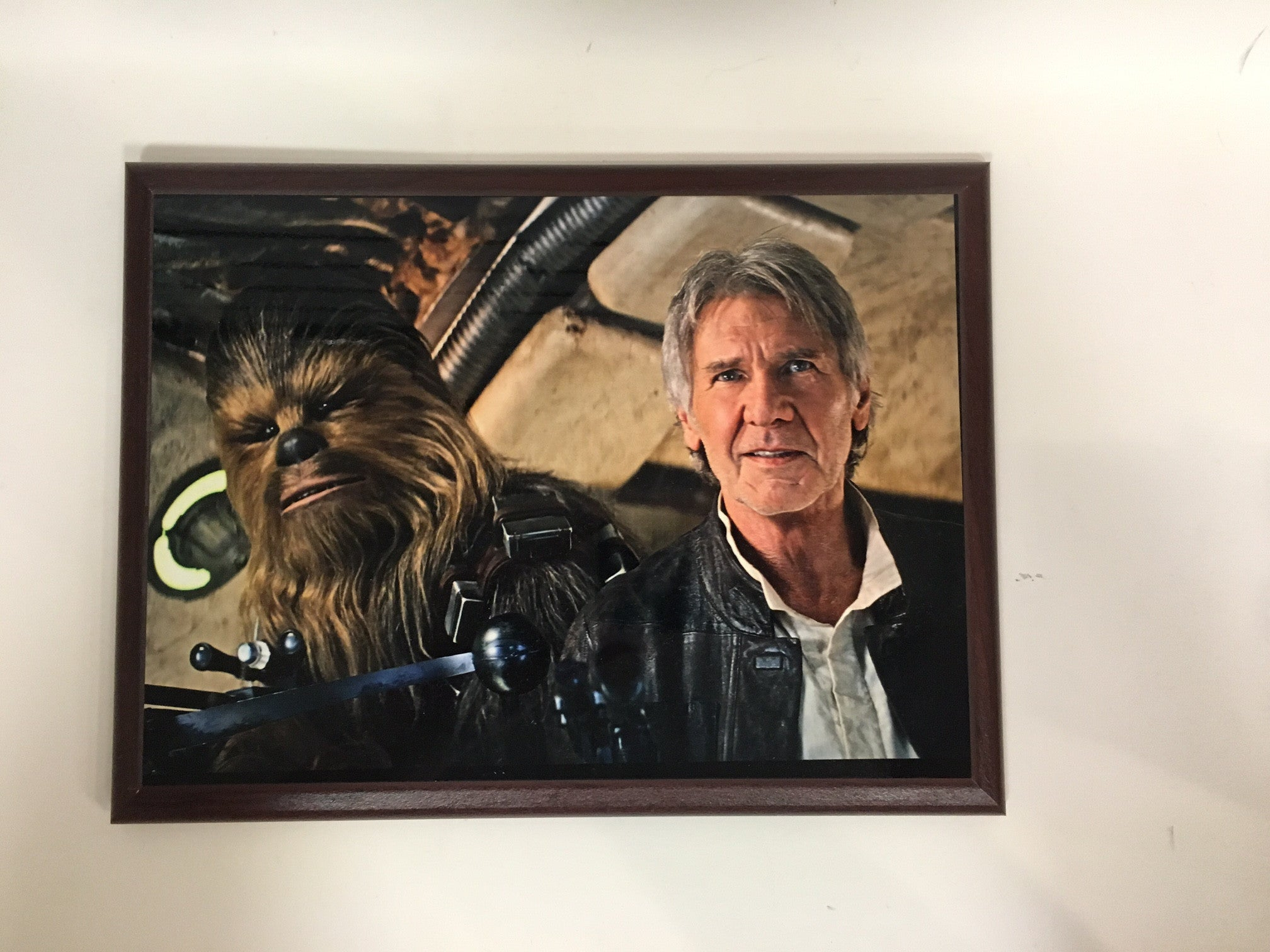 Star Wars - Han Solo and Chewbacca Plaque