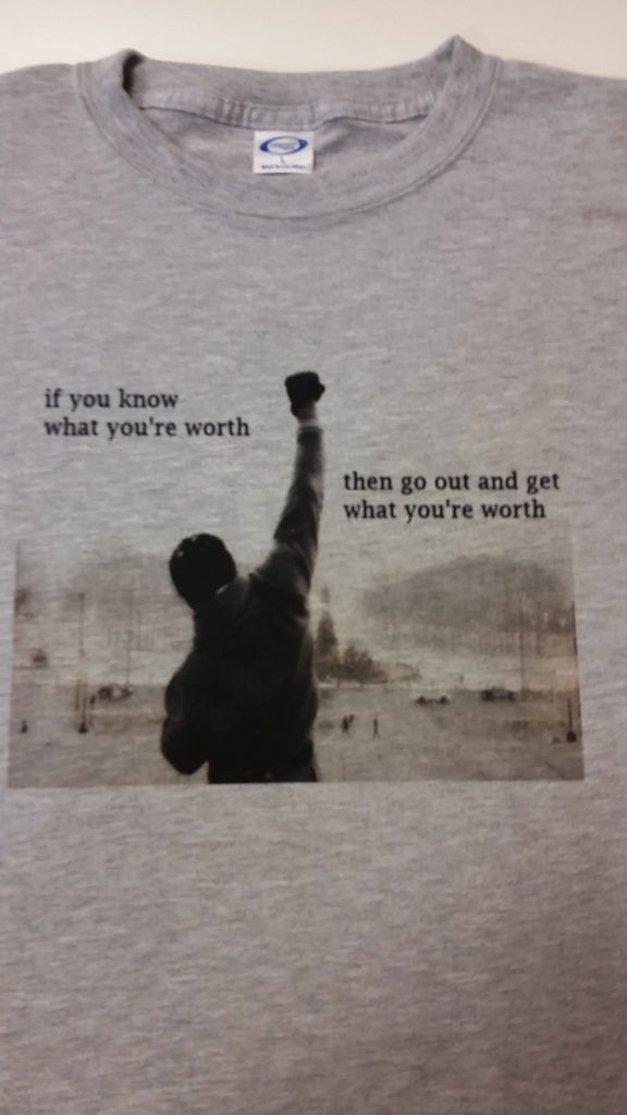 "Rocky ""Know Your Worth"" T-Shirt"