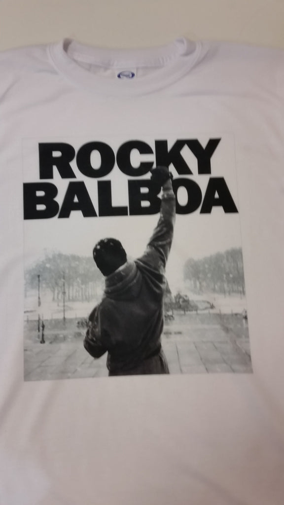 Rocky Balboa Movie Poster T-Shirt