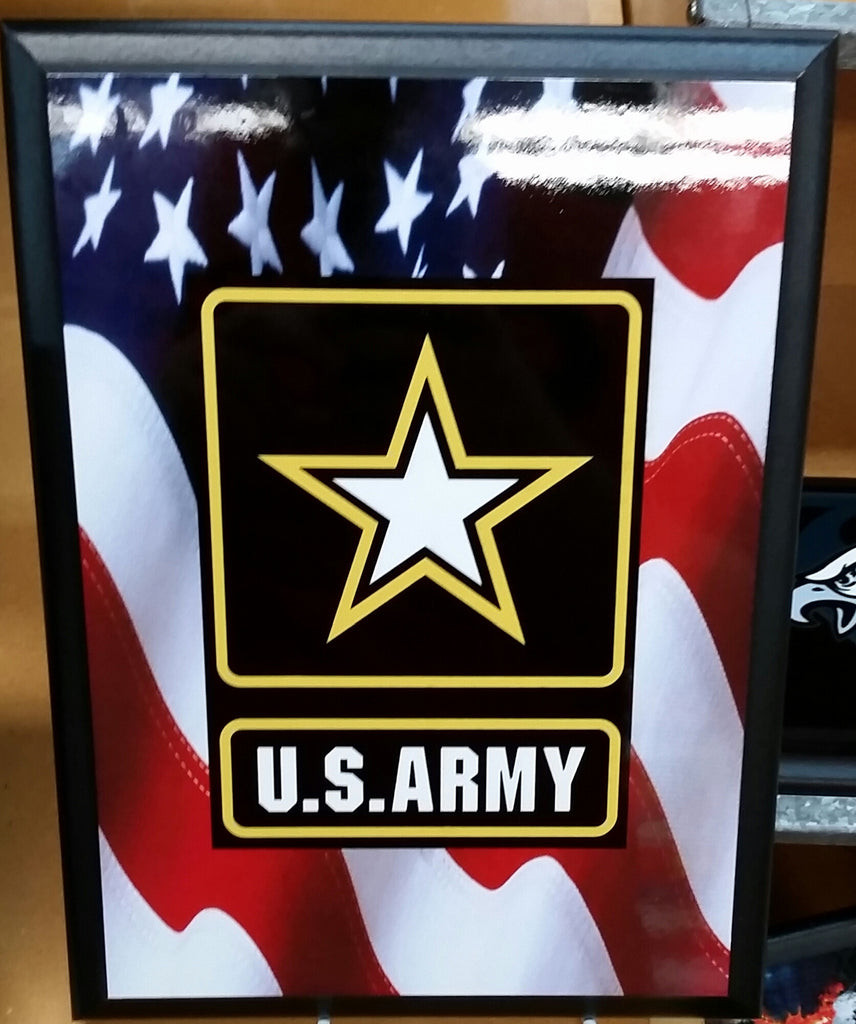 U.S. Army Flag Plaque