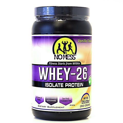 """No Mess"" Whey Isolate Protein -"
