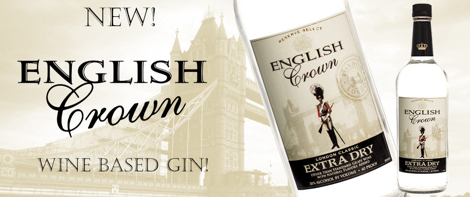 English Crown Fermented Gin
