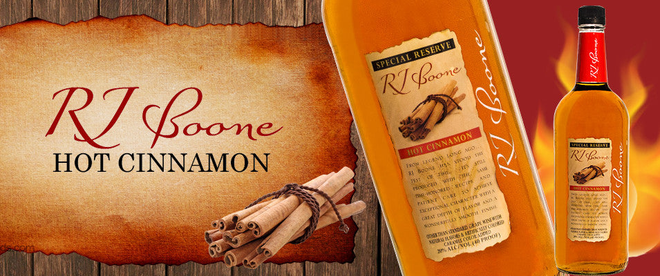 RJ Boone Hot Cinnamon Fermented Whiskey