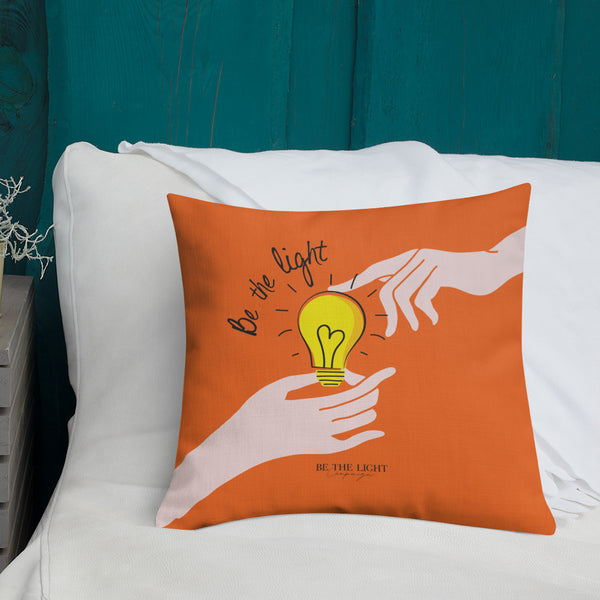 Share Your Light Pillow