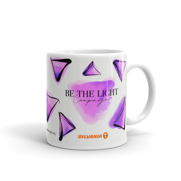 Be the Light Campaign x SYLVANIA Collab Coffee Mug