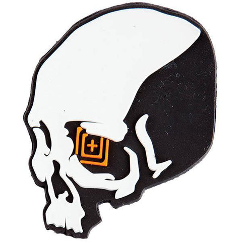 5.11 Skull Shot Patch, Black, 3 x 2.25 - American Tactical Depot