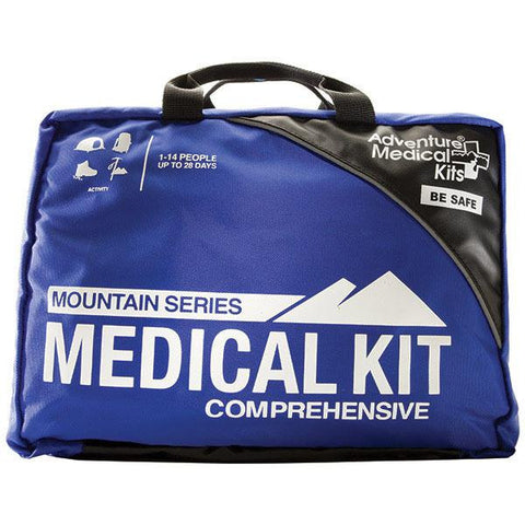 Comprehensive Medical Kit, Mountain Series, Blue-Black - American Tactical Depot